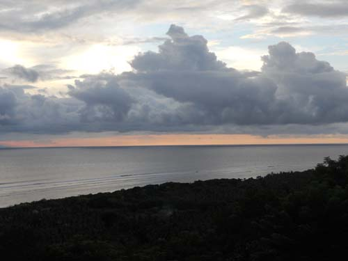 Bali gili sky from mount