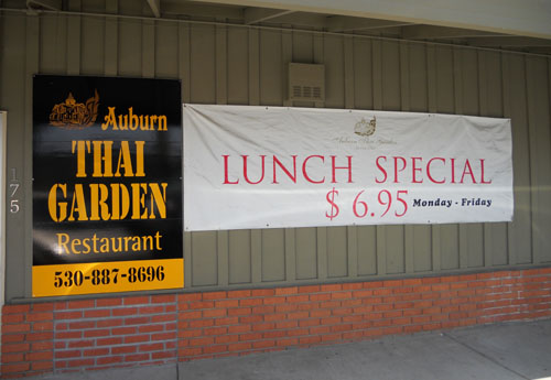 Auburn California restaurants