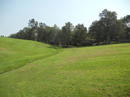 13th fairway