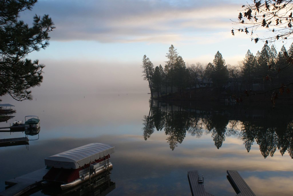 Early  Winter Morning at Lake of the Pines